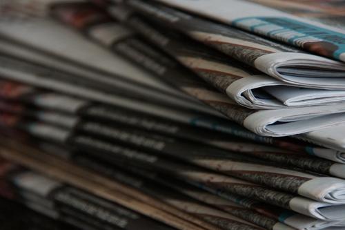 Kranten bij de Halderse Boekhandel